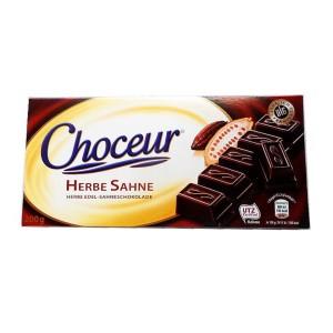 تابلت شکلات تکه ای تلخ چوکور