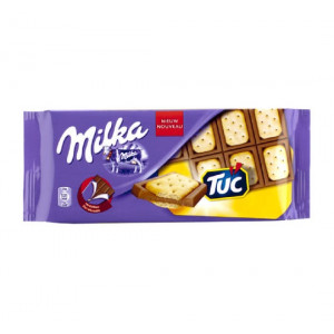 تابلت شکلات و بیسکوئیت توک میلکا