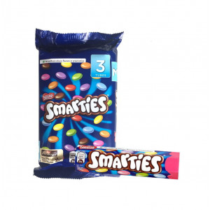 Nestle Smarties 3-Tube Pack