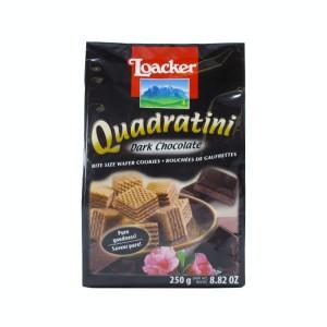 ویفر لقمه ای شکلات تلخ  لواکر (پاکتی 250 گرمی)