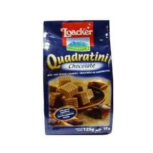 ویفر لقمه ای شکلاتی لواکر (پاکتی 125 گرمی)