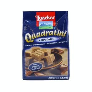 ویفر لقمه ای شکلاتی لواکر (پاکتی 250 گرمی)