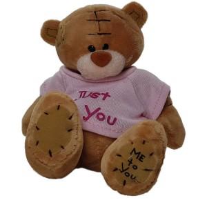 عروسک خرس می تو یو لباس صورتی
