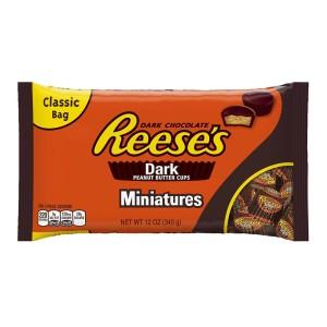 Reeses Dark Peanut Butter Miniatures