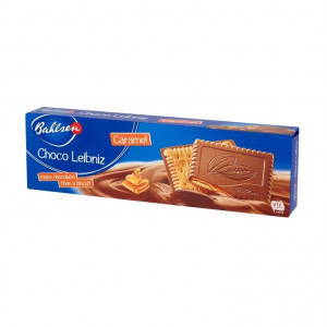 بیسکوئیت با روکش شکلات و کارامل بالسن