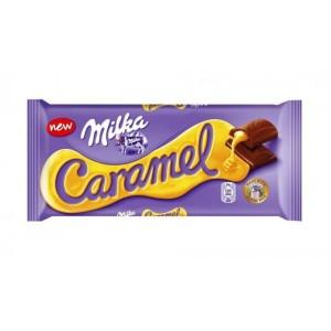 تابلت شکلات با مغز کرم کارامل میلکا