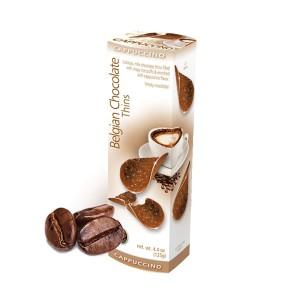 چیپس شکلات و کاپوچینو رویال