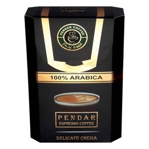 بسته قهوه اسپرسو پندار مدل 100 درصد عربیکا