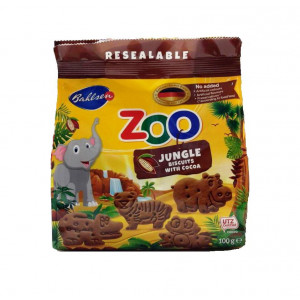 Bahlsen Zoo Jungle Biscuits with Cocoa