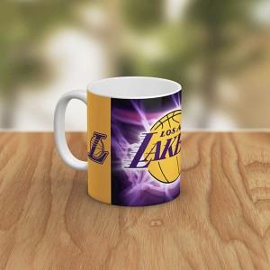 ماگ سرامیکی طرح Los Angeles Lakers