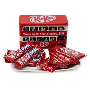 جعبه شکلات کیت کت مدل اتوبوس
