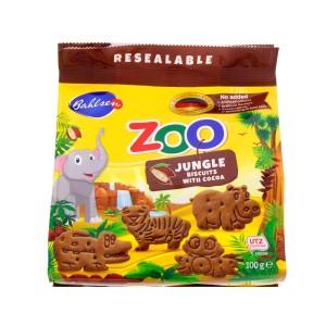 بیسکوئیت شکلاتی باغ وحش بالسن