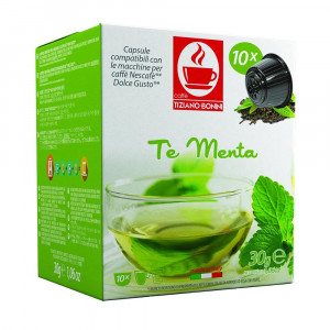Tiziano Bonini Te Menta Herbal Tea Capsule
