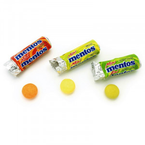 mini mentos fruit mix