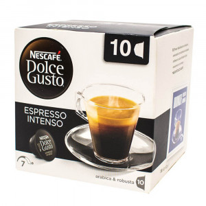 کپسول قهوه 10 عددی دولچه گوستو Espresso Intenso