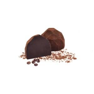 بسته یک کیلویی ترافل دستساز شکلاتی با طعم قهوه روتا