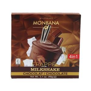 پودر میلک شیک مونبانا فراپه شکلاتی 4 در1