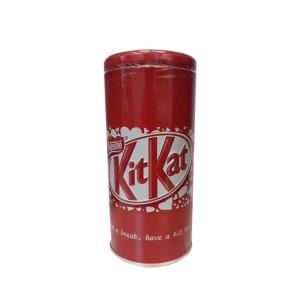 شکلات کیت کت قوطی فلزی (قوطی قرمز رنگ)