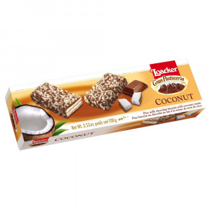 ویفر نارگیل و شکلات پاتیسریا لواکر