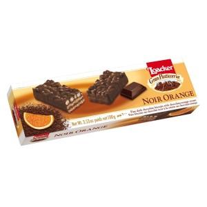 ویفر شکلات تلخ و پرتقال پاتیسریا لواکر