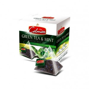 celmar green & mint tea