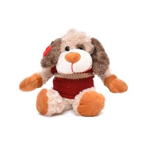 عروسک کریسمس هاوس مدل سگ زرشکی