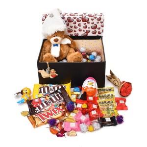 پک هدیه شکلات و عروسک سایز 4 کد H050