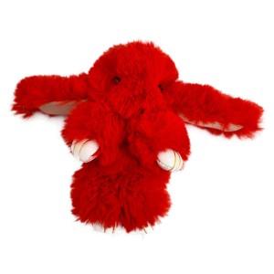 عروسک خرگوش مدل لاکچری قرمز