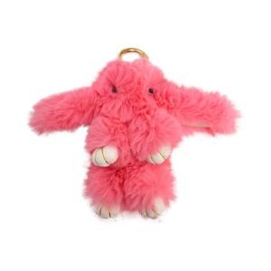عروسک خرگوش مدل لاکچری صورتی