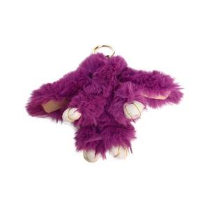 عروسک خرگوش مدل لاکچری بنفش