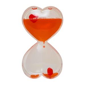 ساعت ژله ای دکوری مدل قلب
