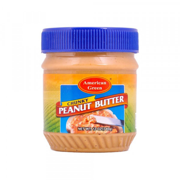 american green chunky peanut butter