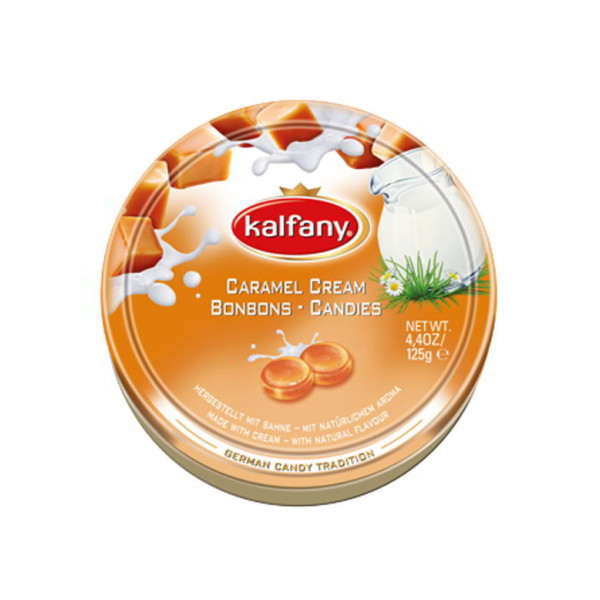 kalfany caramel cream candies
