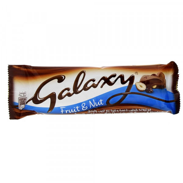 galaxy fruit & nut bar