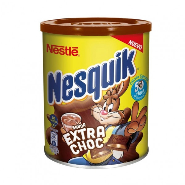(nesquik chocolate powder (extra choc