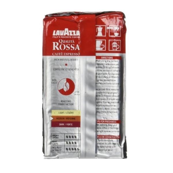 lavazza rosa ground espresso coffee