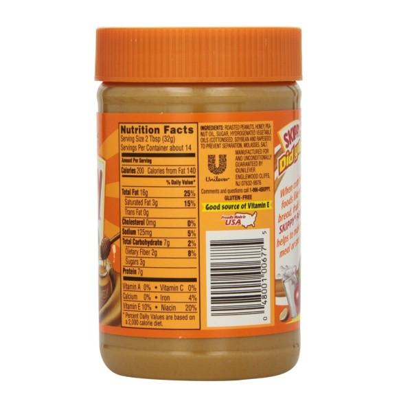 skippyroasted honey nut creamy