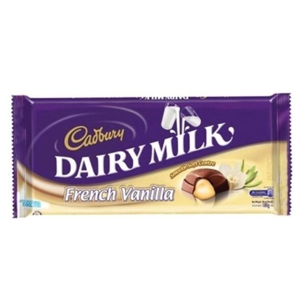 cadbury dairy milk french vanilla