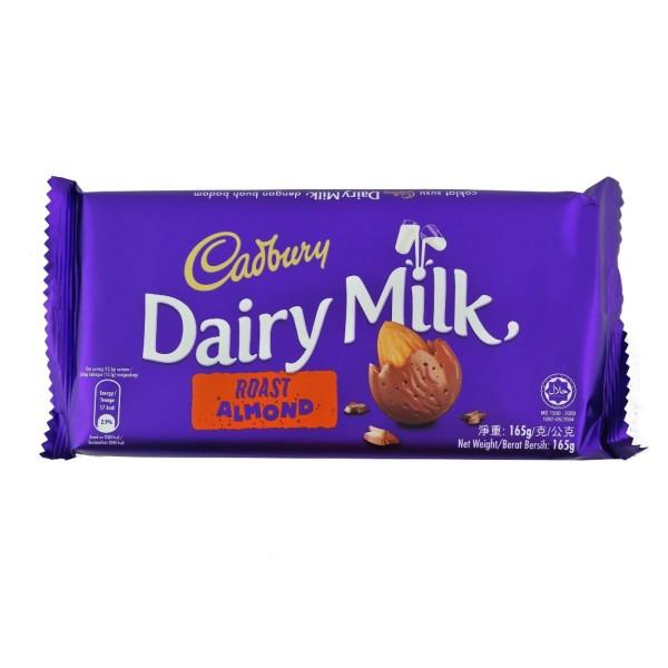cadbury dairy milk roast almond