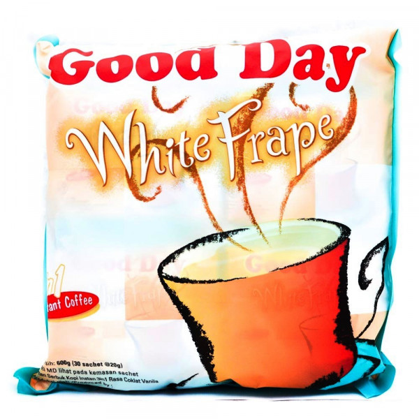 good day coffee 3 in 1 white frape