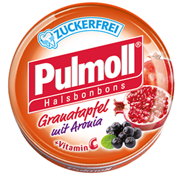pulmoll pomegranate with aronia