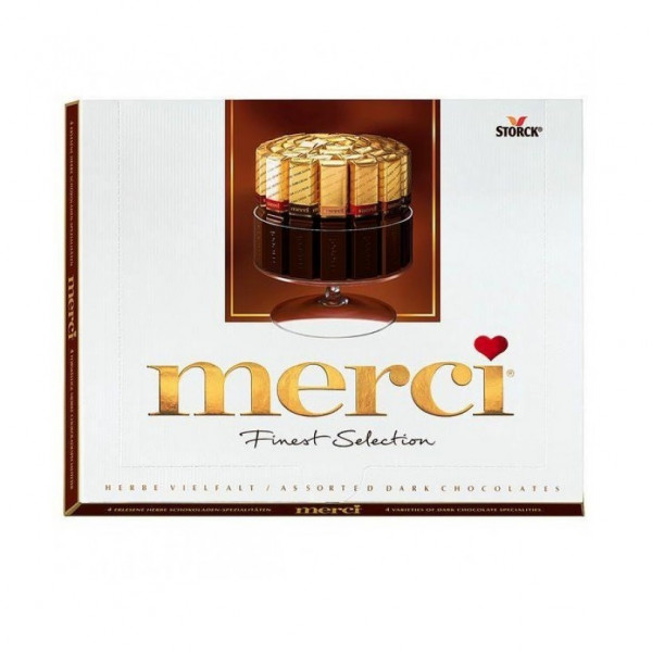 merci dark chocolate