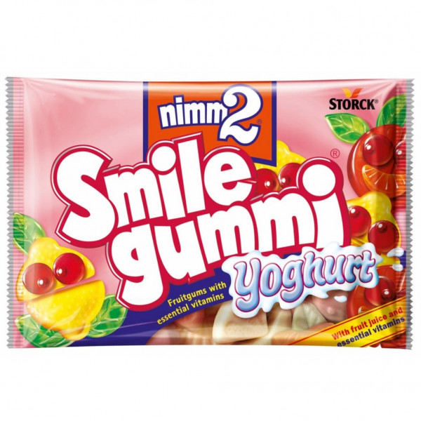 nimm2 smile gummi yoghurt