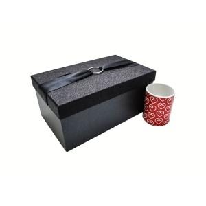جعبه کادویی اکلیلی مشکی (سایز متوسط)