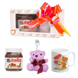 پک هدیه ماگ و عروسک و نوتلا کد Gift007