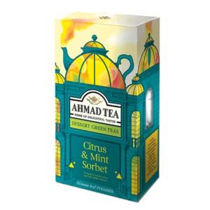 بسته دمنوش میوه ای احمد تی مدل Citrus Mint Sorbet