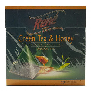 دمنوش رنه مدل Green Tea and Honey