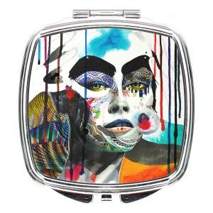 آینه آرایشی لومانا کد M007