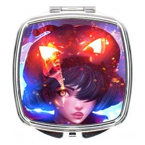 آینه آرایشی لومانا کد M017