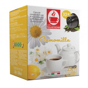 Tiziano Bonini Camomilla Herbal Tea Capsule